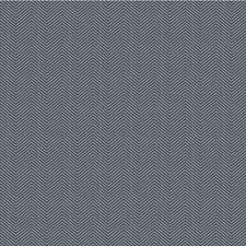 Blue/Grey Herringbone Decorator Fabric by Kravet