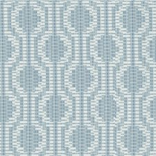 Glacier Geometric Decorator Fabric by Kravet