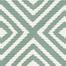 Teal/Ivory Texture Decorator Fabric by Kravet