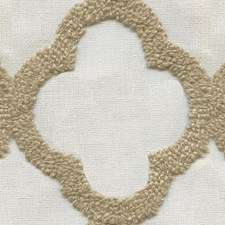 Ivory/Beige Contemporary Decorator Fabric by Kravet