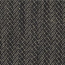 Ink Herringbone Decorator Fabric by Kravet