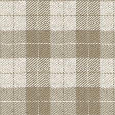 Beige Plaid Decorator Fabric by Kravet