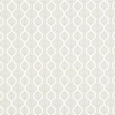 Light Grey/Ivory Geometric Decorator Fabric by Kravet
