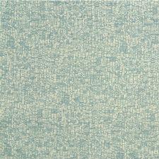 White/Light Blue Texture Decorator Fabric by Kravet