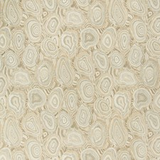 Neutral/Taupe/Black Geometric Decorator Fabric by Kravet