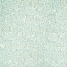 Turquoise/Light Green/White Geometric Decorator Fabric by Kravet
