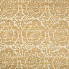 Beige/Camel/Yellow Damask Decorator Fabric by Kravet