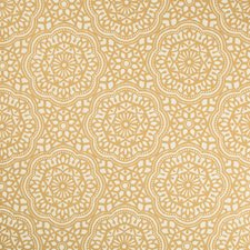 Gold/Beige Ethnic Decorator Fabric by Kravet