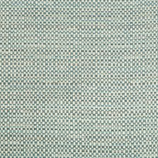 White/Blue/Grey Metallic Decorator Fabric by Kravet