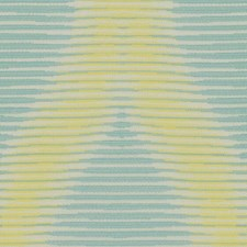 Turquoise/Celery Modern Decorator Fabric by Kravet