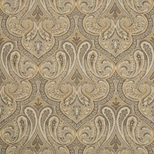Bronze/Beige/Grey Damask Decorator Fabric by Kravet