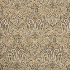 Bronze/Beige/Grey Damask Decorator Fabric by Kravet