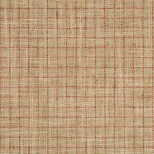 Beige/Red/Wheat Check Decorator Fabric by Kravet