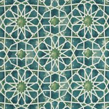 Green/Blue/Ivory Ethnic Decorator Fabric by Kravet