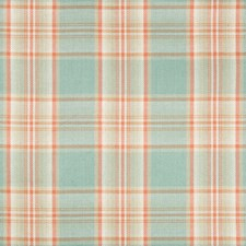 Melon Plaid Decorator Fabric by Kravet