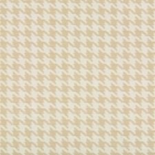 White/Beige Check Decorator Fabric by Kravet
