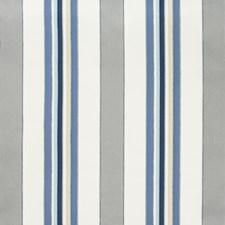 Cornflower Stripes Decorator Fabric by Kravet