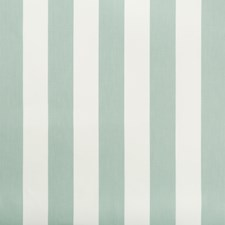 Spa/White Stripes Decorator Fabric by Kravet