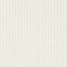 White/Turquoise Stripes Decorator Fabric by Kravet