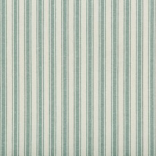 Teal Stripes Decorator Fabric by Kravet