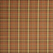 Persimmon Check Decorator Fabric by Fabricut