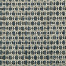 Blue Geometric Decorator Fabric by Kravet