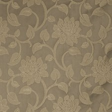 Taupe Floral Decorator Fabric by Fabricut
