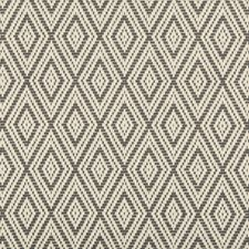 Charcoal/Grey Small Scales Decorator Fabric by Kravet