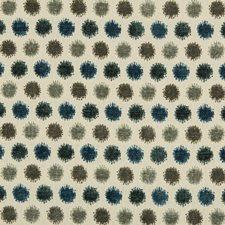 Beige/Blue/Green Geometric Decorator Fabric by Kravet