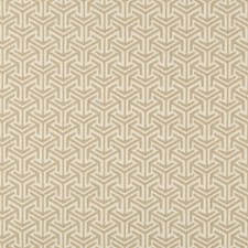 Beige Geometric Decorator Fabric by Kravet