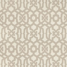 Taupe Geometric Decorator Fabric by Kravet