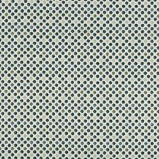 White/Blue/Green Geometric Decorator Fabric by Kravet
