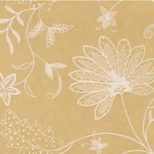 Saffron Botanical Decorator Fabric by Kravet