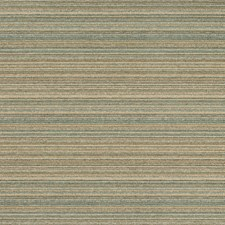Turquoise/Beige/Ivory Stripes Decorator Fabric by Kravet