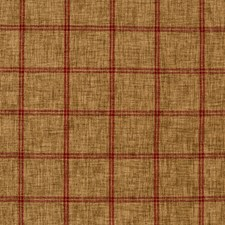 Brown/Red Plaid Decorator Fabric by Kravet