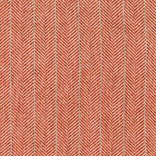 Red/White/Turquoise Herringbone Decorator Fabric by Kravet