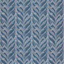 Marine Flamestitch Decorator Fabric by Kravet