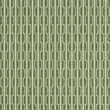 Green/White Geometric Decorator Fabric by Kravet