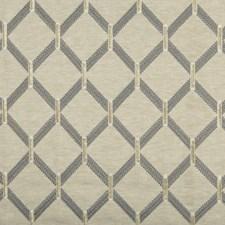 Beige/Grey Diamond Decorator Fabric by Kravet
