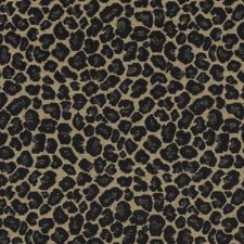 Black Animal Skins Decorator Fabric by Duralee