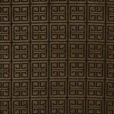 Olive Geometric Decorator Fabric by Fabricut