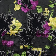 Orchid Floral Decorator Fabric by Stroheim
