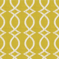 Chartreuse Geometric Decorator Fabric by Kravet