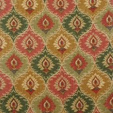 Terra/green Decorator Fabric by Duralee