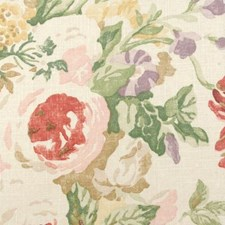 Red/pink Decorator Fabric by Duralee