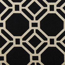 Black/beige Decorator Fabric by Duralee