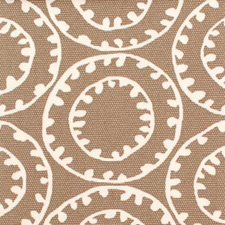 Mocha Dots Decorator Fabric by Duralee