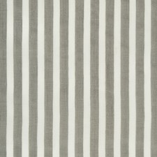 White/Grey Stripes Decorator Fabric by Kravet