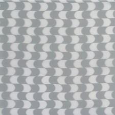 White/Light Grey Modern Decorator Fabric by Kravet