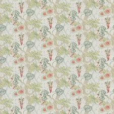 Guava Floral Decorator Fabric by Stroheim